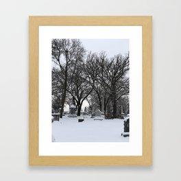 Haunted Winter Framed Art Print