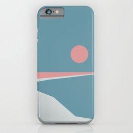 Sunset at Newton iPhone Case