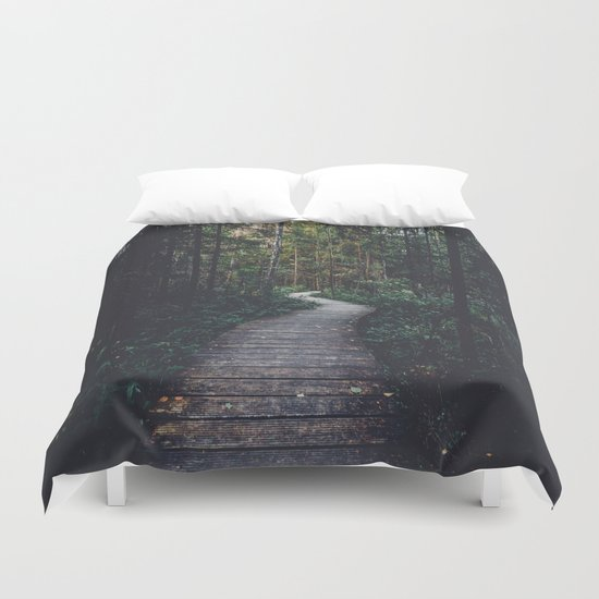 Path Unknown Duvet Cover