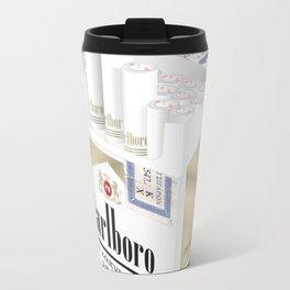 Smokes Metal Travel Mug