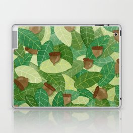 Acorns and Leaves Laptop & iPad Skin