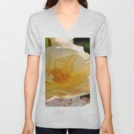 Golden  Rose Unisex V-Neck