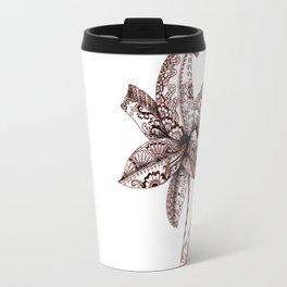 Henna Lily Travel Mug