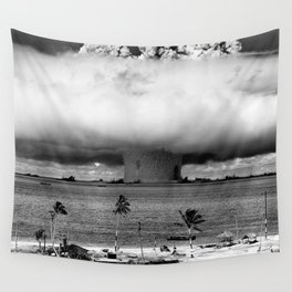 Operation Crossroads: Baker Explosion Wall Tapestry