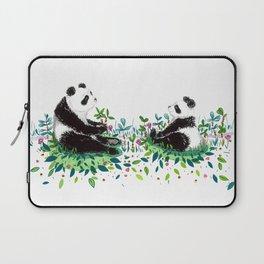 Peaceful Pandas Laptop Sleeve