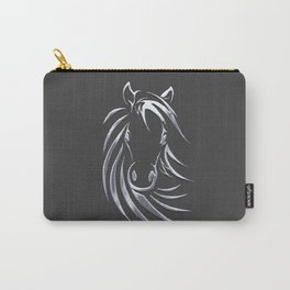 Silver Horse Carry-All Pouch