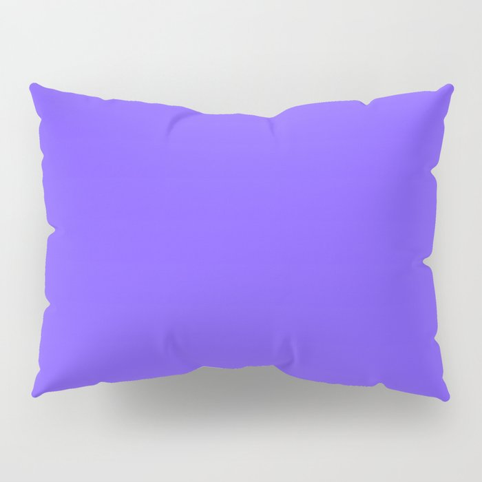 Periwinkle Orchid : Solid Color Pillow Sham