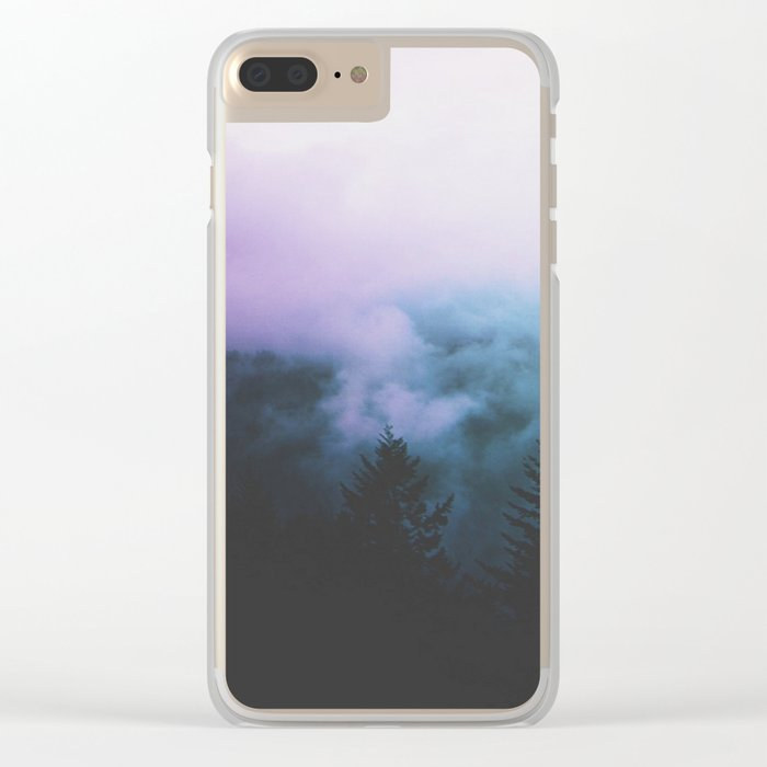 slow me down Clear iPhone Case