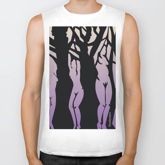 Women/Trees Biker Tank
