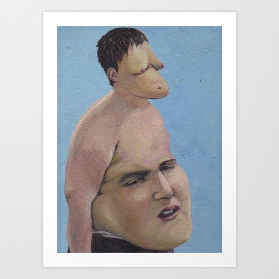 Bellyhead Art Print