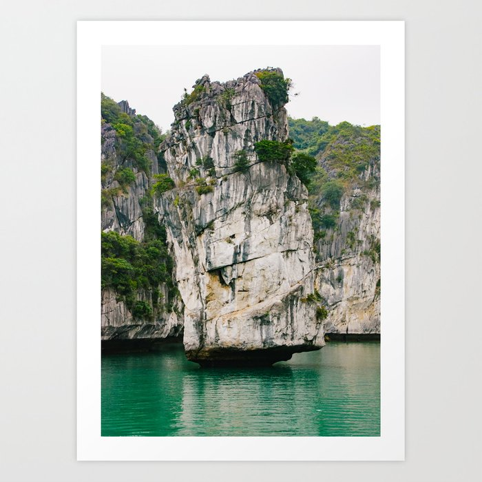 Amazing Rock Formation in Vietnam Art Print