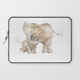 Mother's Love - Elephant Family Laptop Sleeve