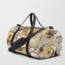 Fancy Seashells And Starfish Duffle Bag