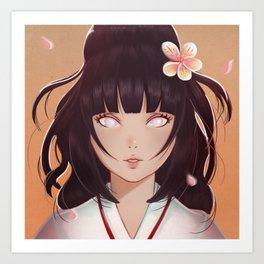 Hinata Art Print