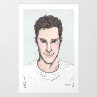 enerjax Art Prints featuring SmileyBatch by enerjax