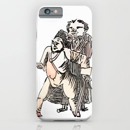 Los Caprichos ~ 76 ~ Look Out iPhone Case
