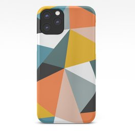 Modern Geometric 36 iPhone Case