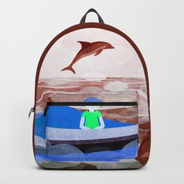 When dolphins are around 6 Backpack