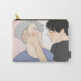 yuuri first kiss - yuri on ice Carry-All Pouch