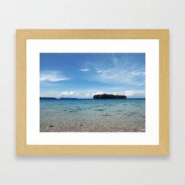 Pulau Vibes Framed Art Print