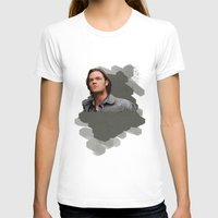 sam winchester T-shirts featuring Sam Winchester - Supernatural by KanaHyde