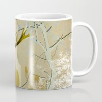 bebop Mugs featuring Deer in the forest II by pascal+