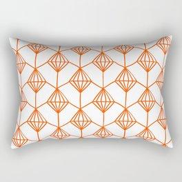 Diamond seamess pattern no2 Rectangular Pillow