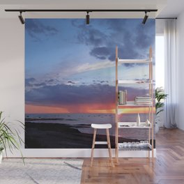 Sunset Rain Cloud Wall Mural