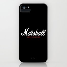 Marshall Amplification iPhone Case