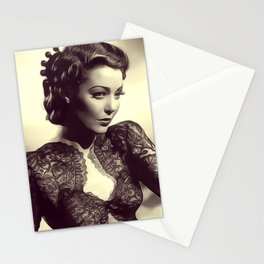 Loretta Young Stationery Cards