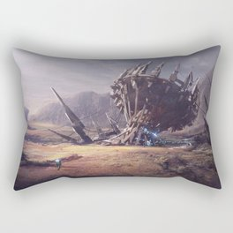 LOST PLANET_ STATION Rectangular Pillow