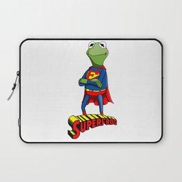 Kermit the Superman Laptop Sleeve