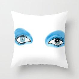 Life on Mars - Eyes Throw Pillow