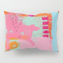 almost there - abstract painting Pillow Sham