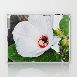 The Flower and the Bee Laptop & iPad Skin