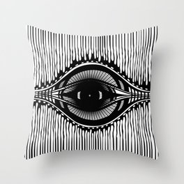 the shifty eye Throw Pillow