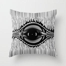 the shifty eye Throw Pillow