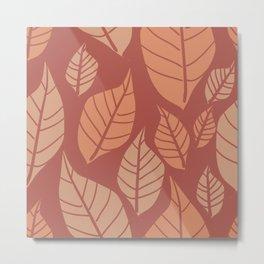 Leaves for Ashley Metal Print