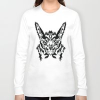 bunny Long Sleeve T-shirts featuring Bunny by Vasco Vicente