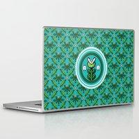 deco Laptop & iPad Skins featuring 8bit Deco by Bubblegun