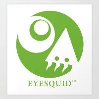 EYESQUID 2014 logo Art Print