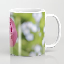 Pink tulip and forget-me-not Coffee Mug