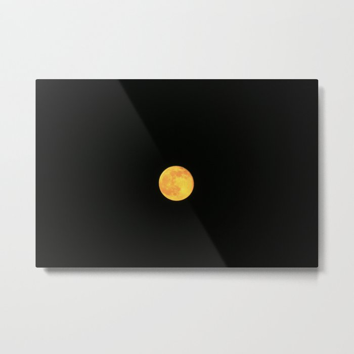 Honey Moon Metal Print