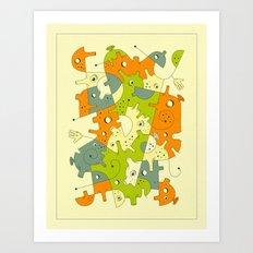 INNER-FORMATIONS (5) Art Print