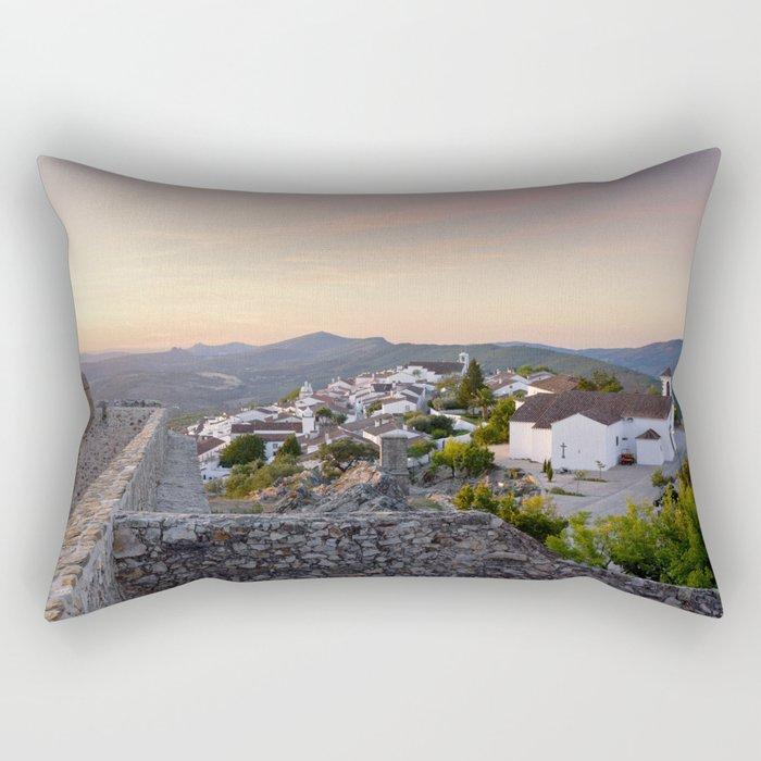 Dawn at Marvao, Portugal Rectangular Pillow