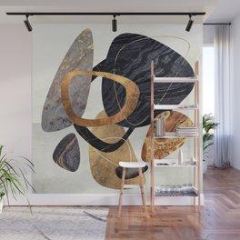 Abstract Pebbles III Wall Mural