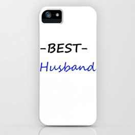 Best husband iPhone Case