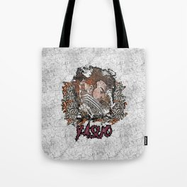 League of Legends YASUO graffiti style Tote Bag