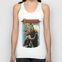 castlevania Tank Tops featuring Symphony of the night by MeleeNinja
