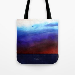 Ruby Tides - Original Abstract Art Tote Bag